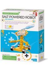 4M Salt Water Powered Robot
