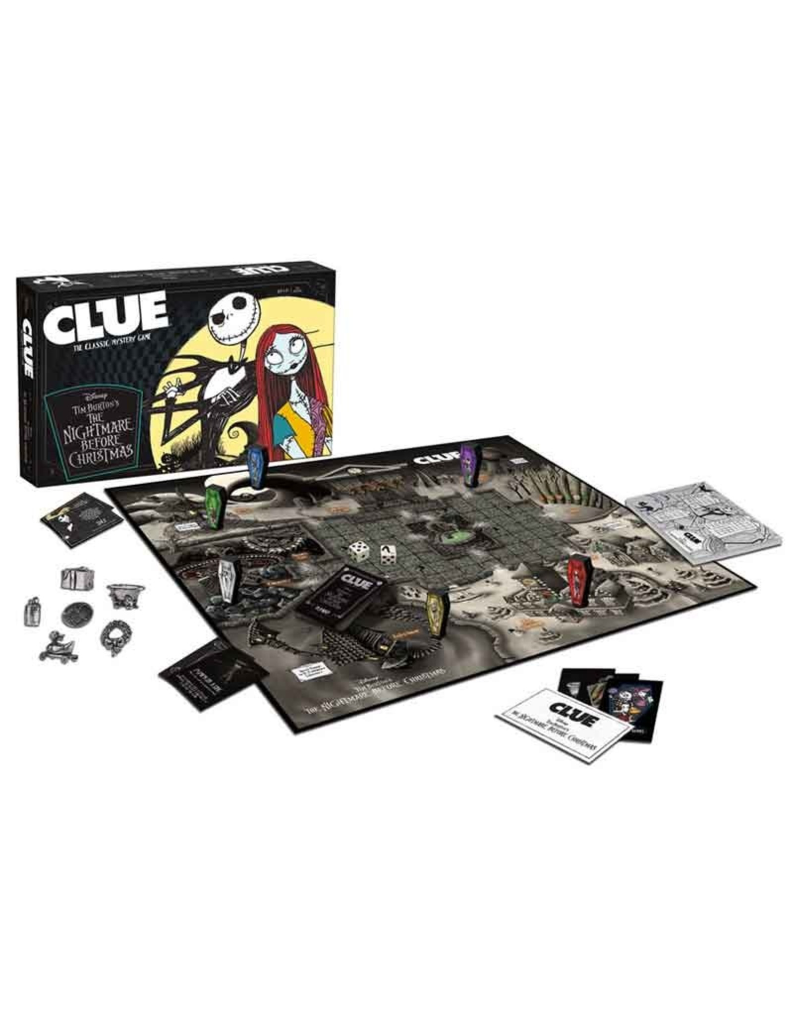 USAopoly Clue: The Nightmare Before Christmas