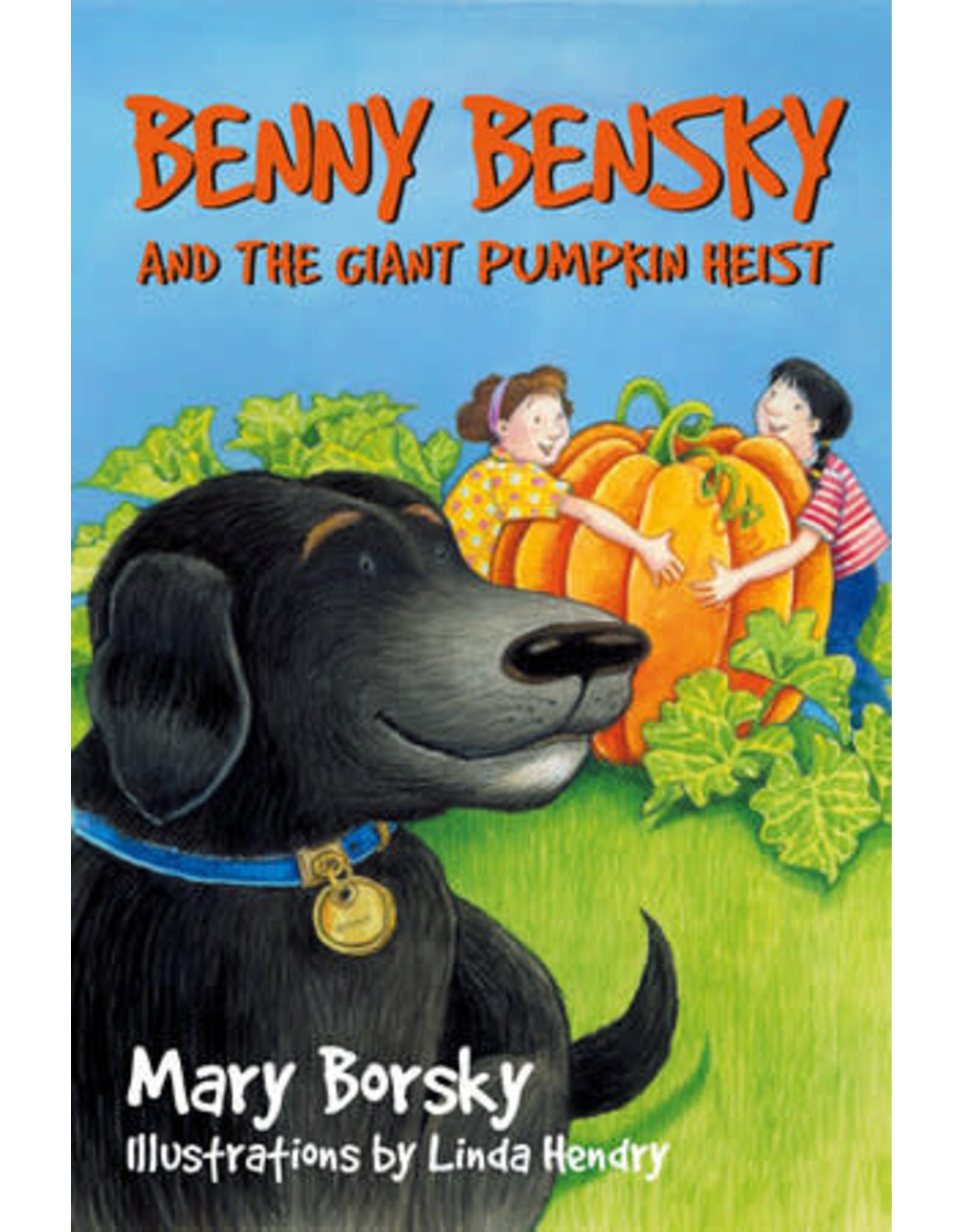 Benny Bensky and the Giant Pumpkin Heist