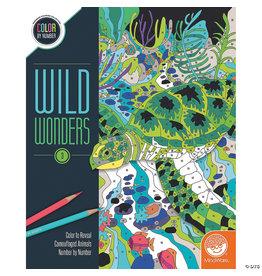 Mindware Wild Wonders Color by Number: Book 3