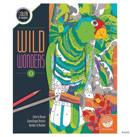 Mindware Wild Wonders Color by Number: Book 4