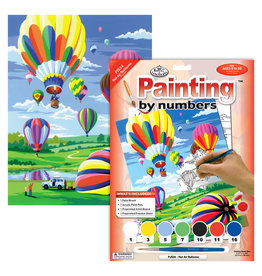 Royal & Langnickel Paint by Number: Hot Air Balloons