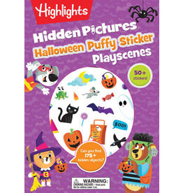 Highlights Highlights Halloween Hidden Pictures Puffy Sticker Playscenes