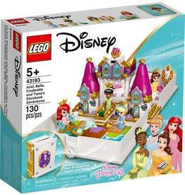 Lego Ariel, Belle, Cinderella and Tiana's Storybook Adventures