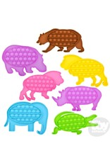 """7.5"""" Bubble Popper - Zoo Animals"""