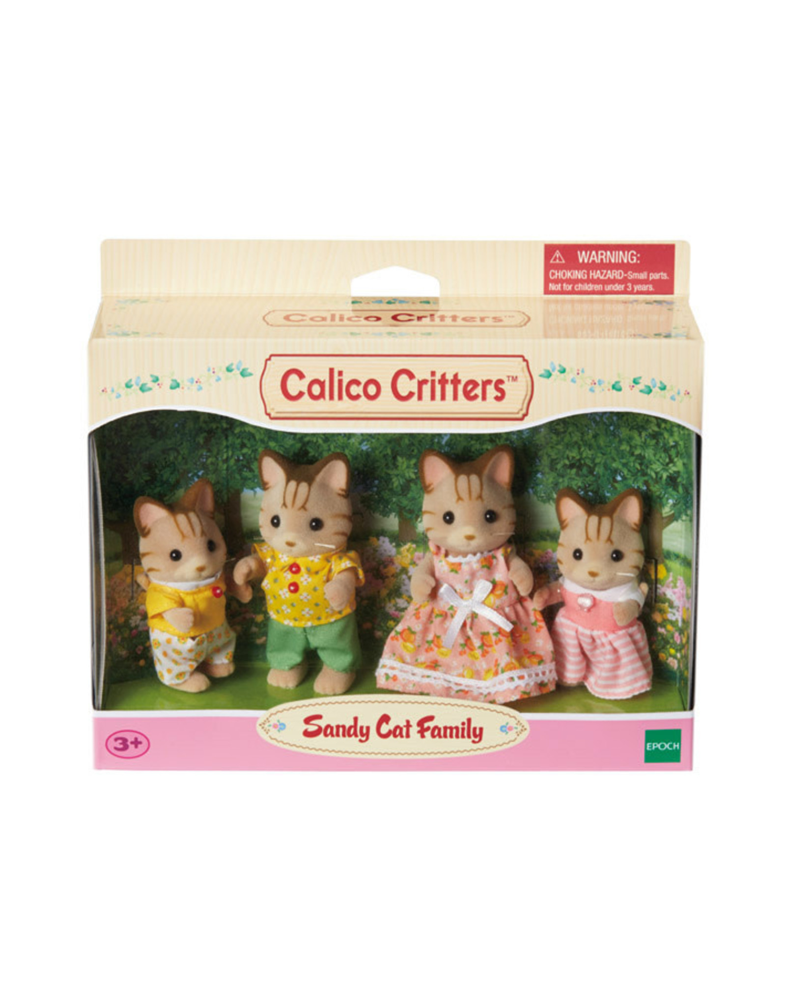 Calico Critters Calico Critters Sandy Cat Family