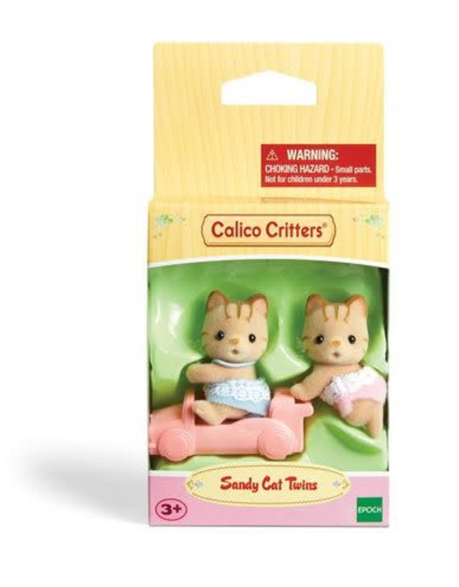 Calico Critters Calico Critters Sandy Cat Twins