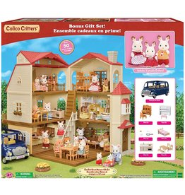 Calico Critters Calico Critters Red Roof Grand Mansion Gift Set
