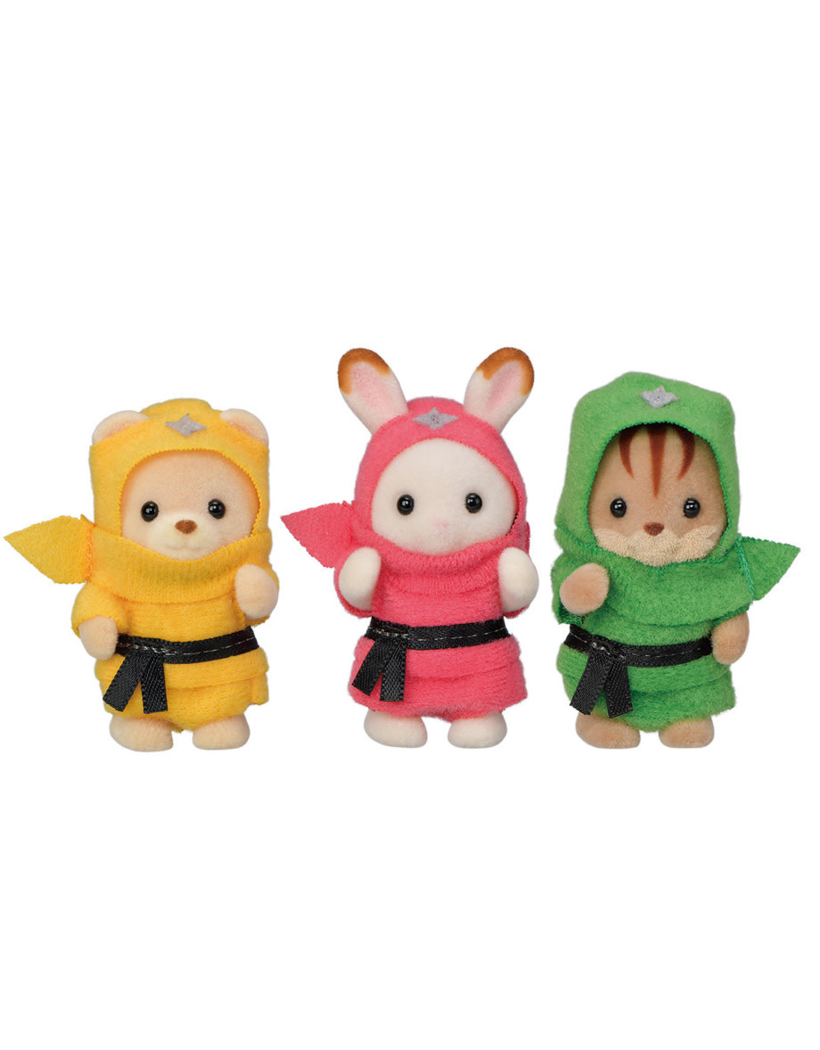 Calico Critters Calico Critters Baby Trio Ninjas