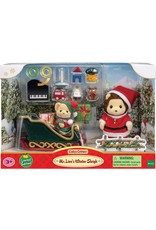 Calico Critters Calico Critters Mr. Lions Winter Sleigh