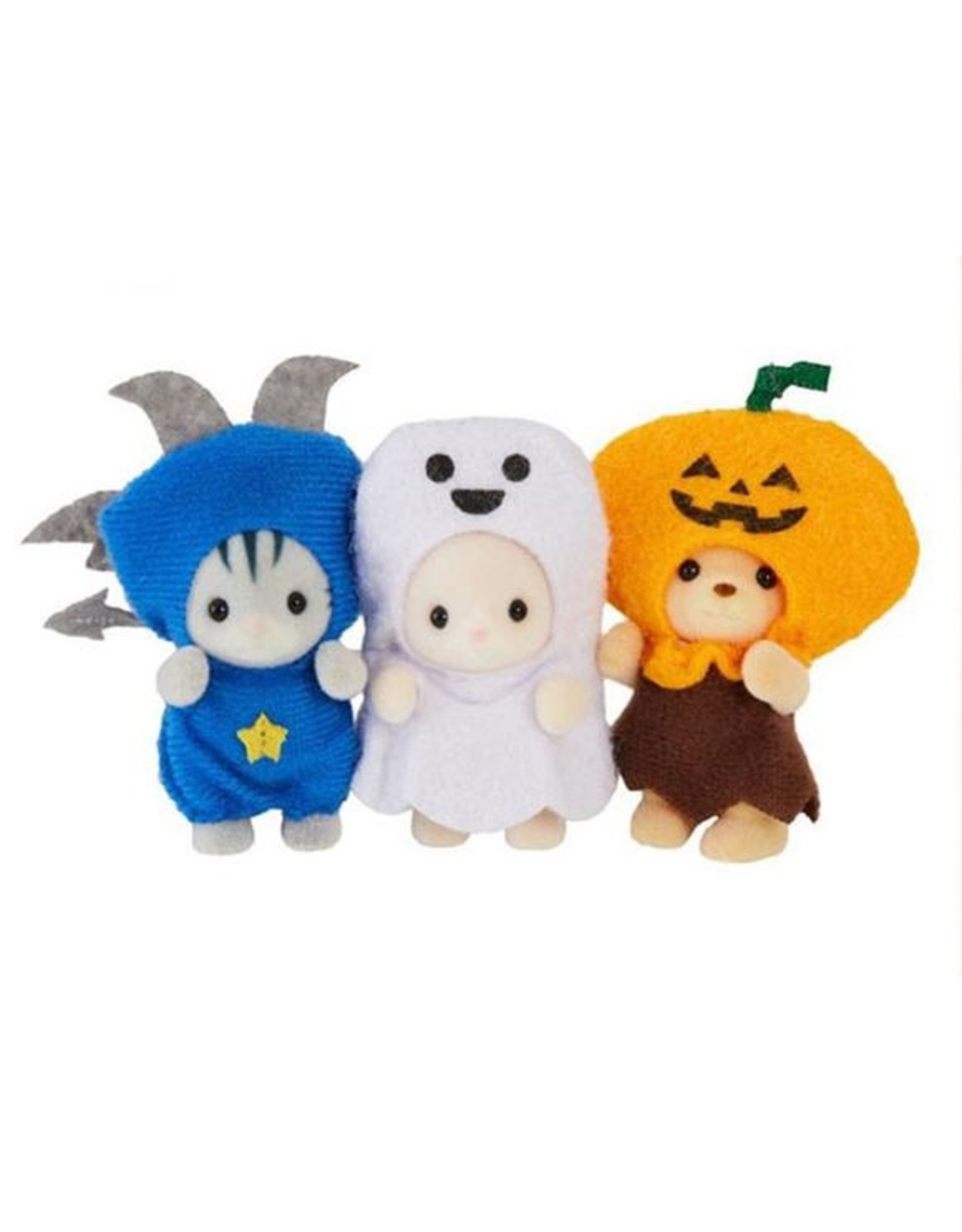 Calico Critters Calico Critters Trick or Treat Trio - Limited Edition Seasonal Set