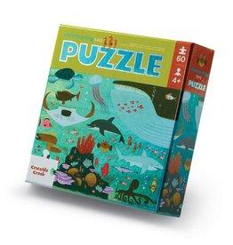 Crocodile Creek Shimmering Sea 60 pc Foil Puzzle