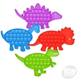 "8"" Bubble Popper Dinosaur Asst."