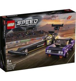 Lego Mopar Dodge//SRT Top Fuel Dragster and 1970 Dodge Challenger T/A