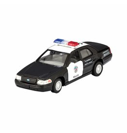 Schylling Pull Back Diecast Police Car