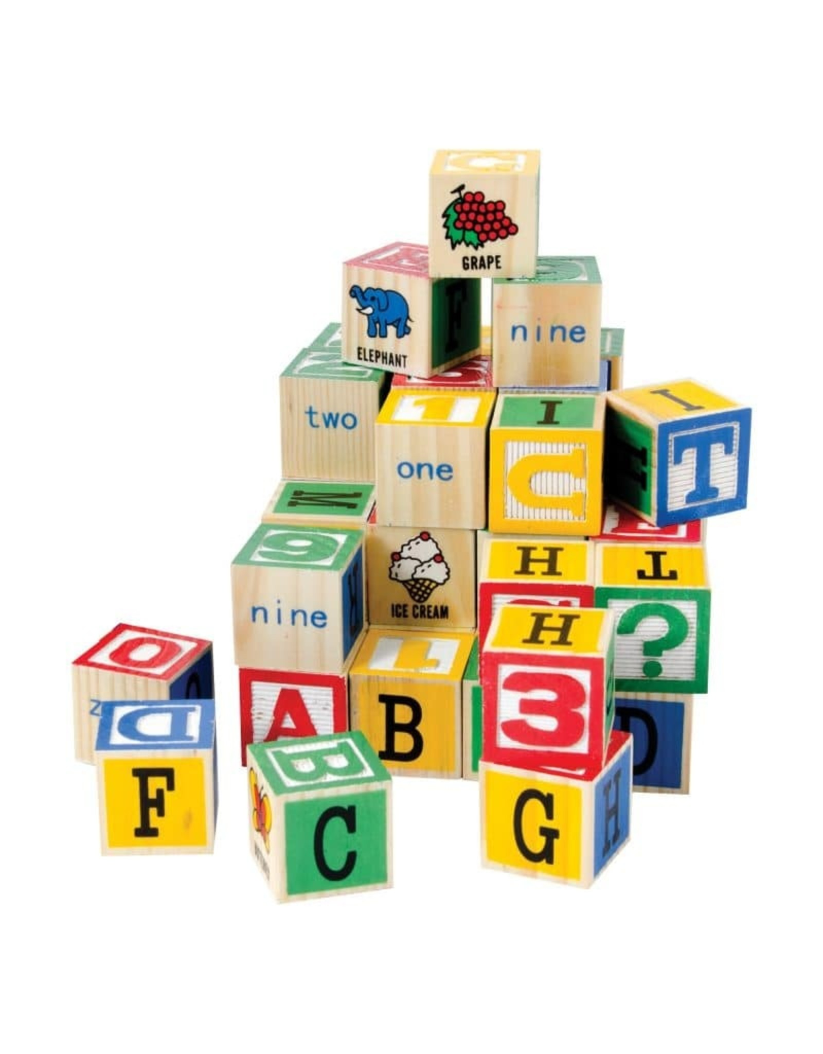Schylling Alphabet Wooden Blocks