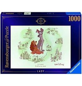 Ravensburger Disney Vault: Lady and the Tramp 1000pc