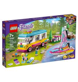 Lego Forest Camper Van and Sailboat