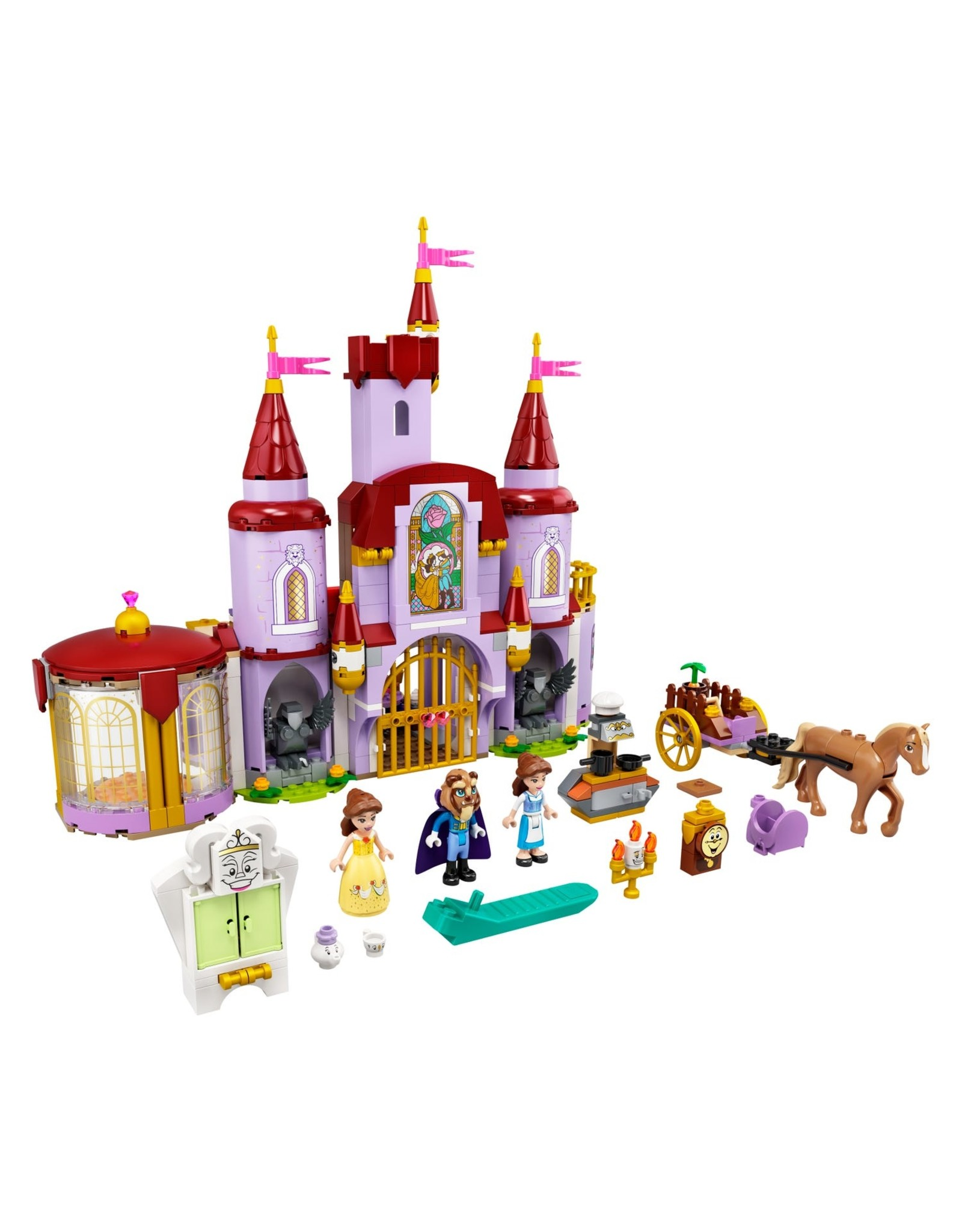 Lego Belle and the Beast's Castle