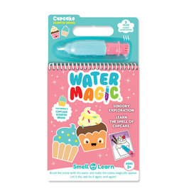 Smell and Learn Water Magic Activity Book - Cupcake