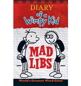 Mad Libs Diary of a Wimpy Kid Mad Libs