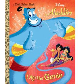 Little Golden Books I Am the Genie Little Golden Book (Disney Aladdin)