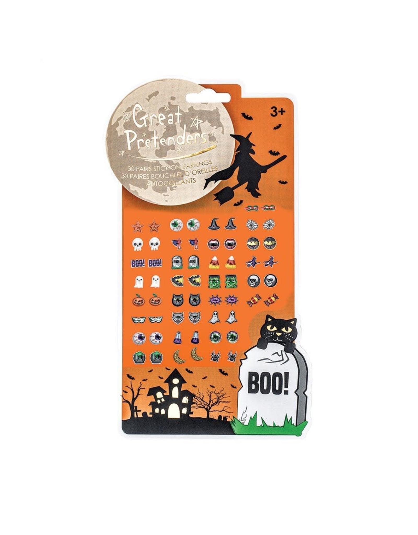 Great Pretenders Halloween Sticker Earrings