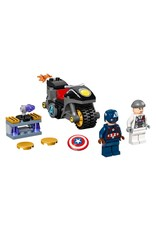 Lego Captain America and Hydra Face-Off