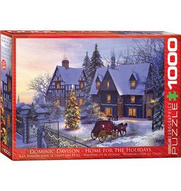 Eurographics Home for the Holidays 1000pc