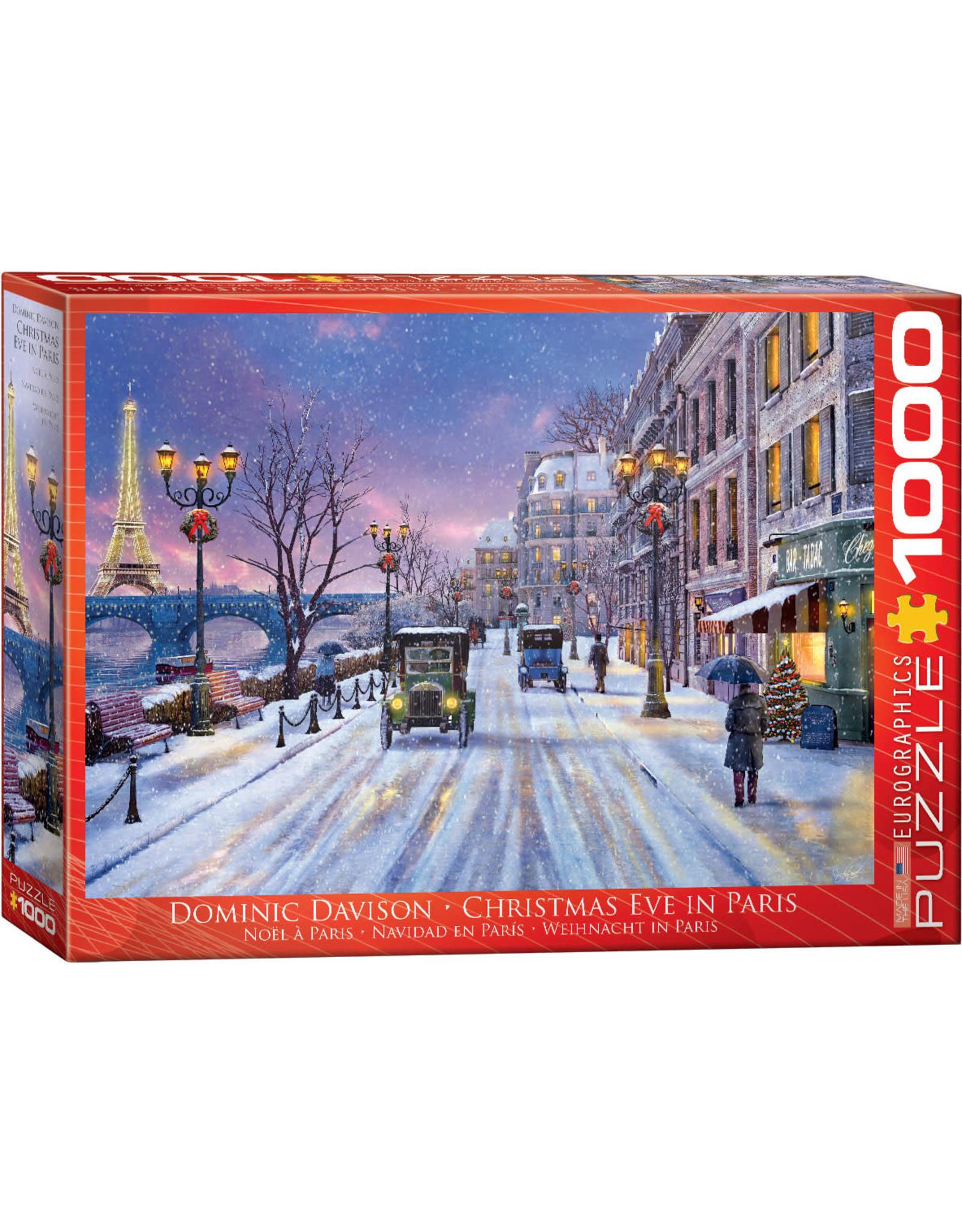Eurographics Christmas Eve in Paris 1000pc