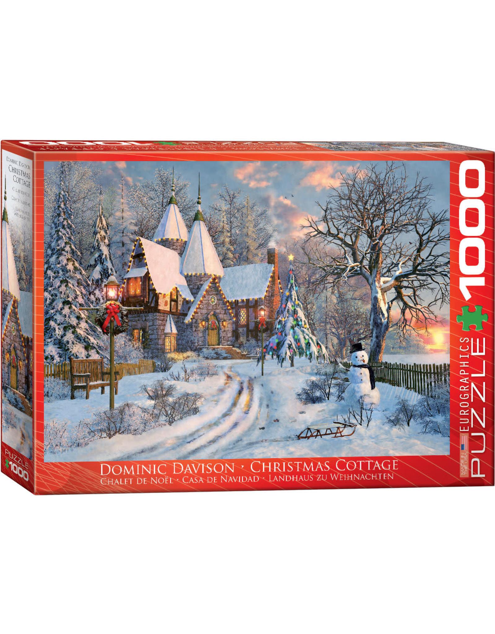 Eurographics Christmas Cottage 1000pc