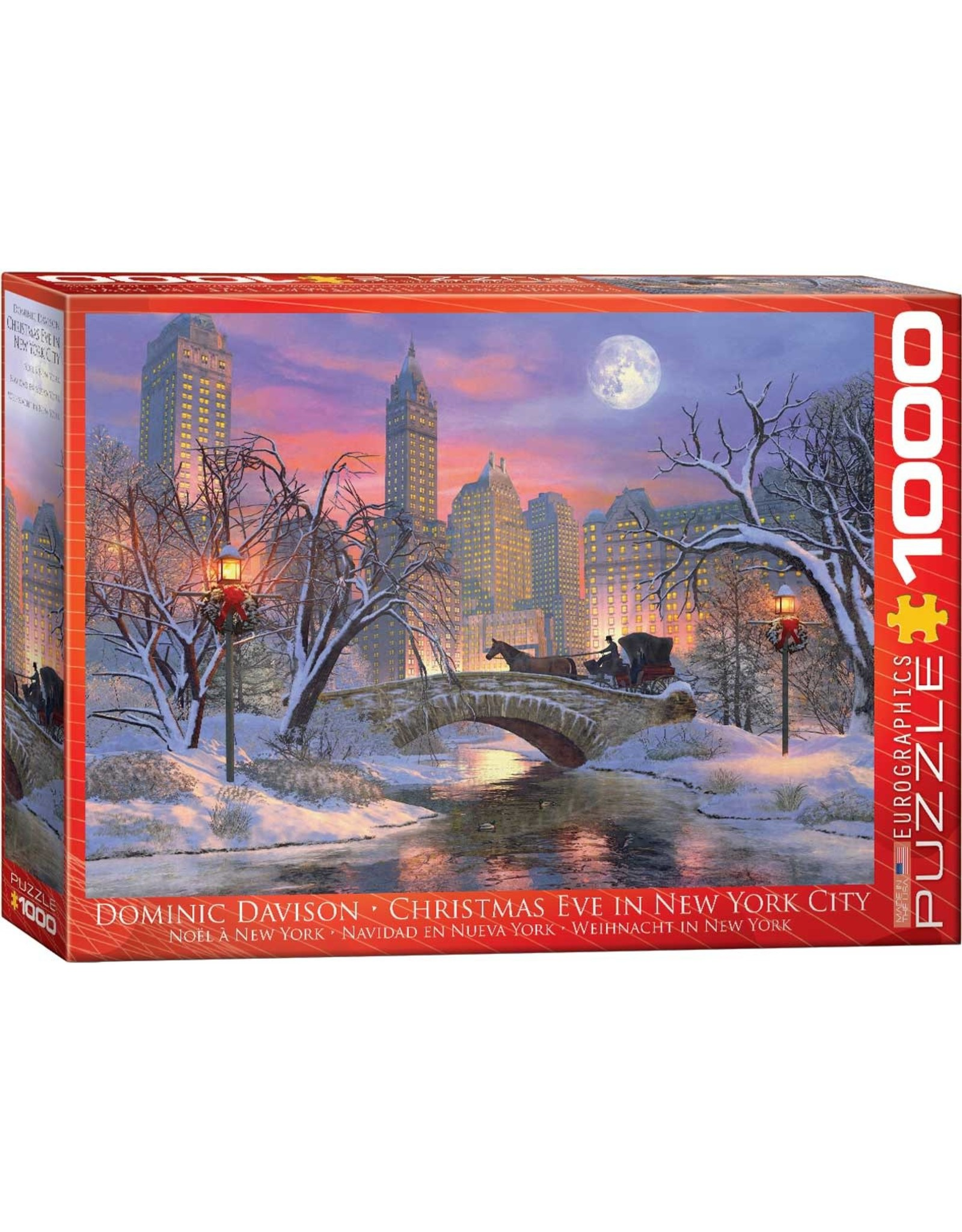Eurographics Christmas Eve in New York City 1000pc