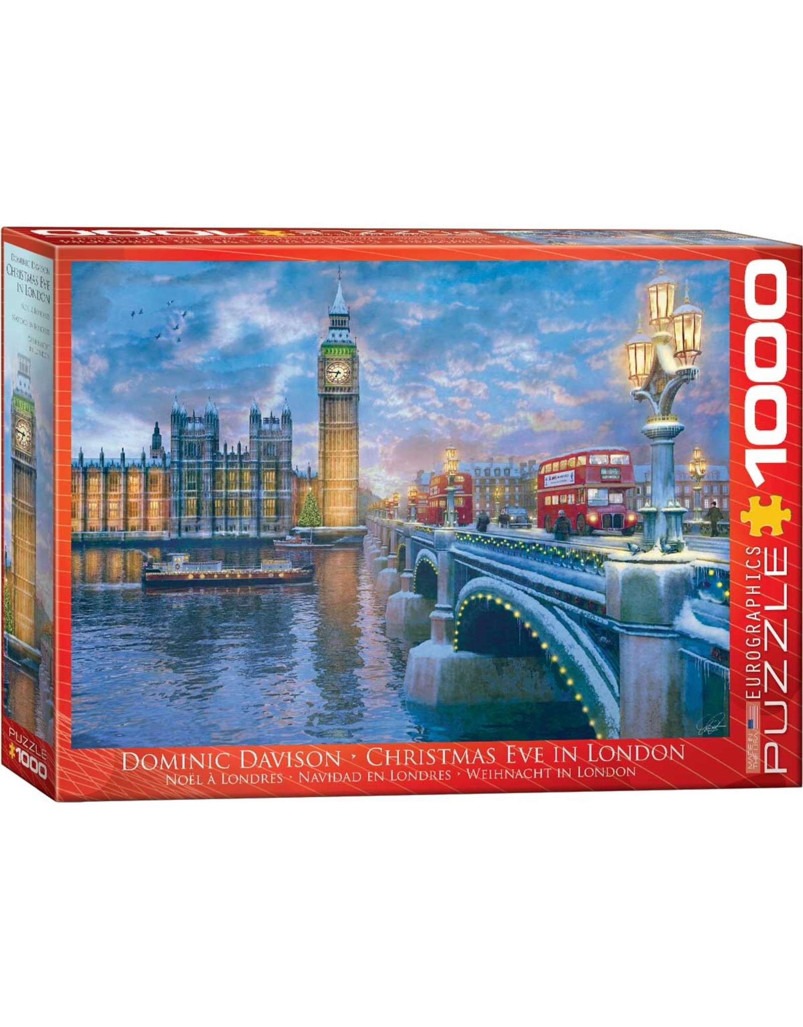 Eurographics Christmas Eve In London 1000pc