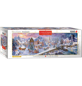 Eurographics Holiday at the Seaside 1000pc Panoramic Puzzle