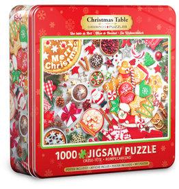 Eurographics Christmas Table Tin 1000pc