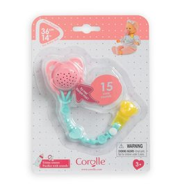 """Corolle Corolle 14"""" Doll Interactive Pacifier"""