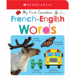 Scholastic My First Canadian French-English Words
