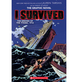 Scholastic I Survived the Sinking of the Titanic, 1912 (Graphic Novel)