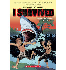 Scholastic I Survived the Shark Attacks of 1916 (Graphic Novel)
