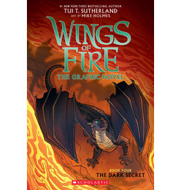 Scholastic Wings of Fire Graphic Novel #4: The Dark Secret