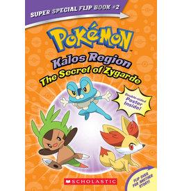 Scholastic Pokemon Super Special Flip Book #2: Kalos Region/Unova Region