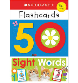 Scholastic Scholastic Early Learners: Flashcards: 50 Sight Words