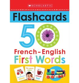 Scholastic Scholastic Early Learners: Flashcards: French-English 50 First Words