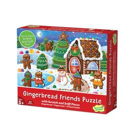 Peaceable Kingdom Gingerbread Friends Scratch And Sniff 84pc Puzzle