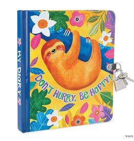 Peaceable Kingdom Happy Sloth Diary