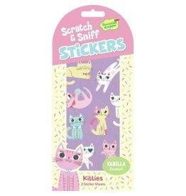 Peaceable Kingdom Vanilla Kitties Scratch & Sniff Stickers