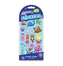Peaceable Kingdom Glitter: Ocean Cuties Stickers