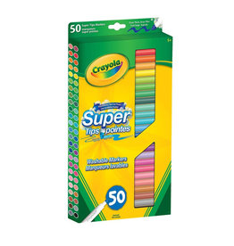 Crayola Crayola 50 Super Tips Washable Markers