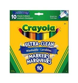 Crayola Crayola 10 Ultra Clean Markers