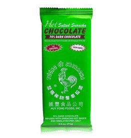 Hot Salted Sriracha 70% Dark Chocolate Bar